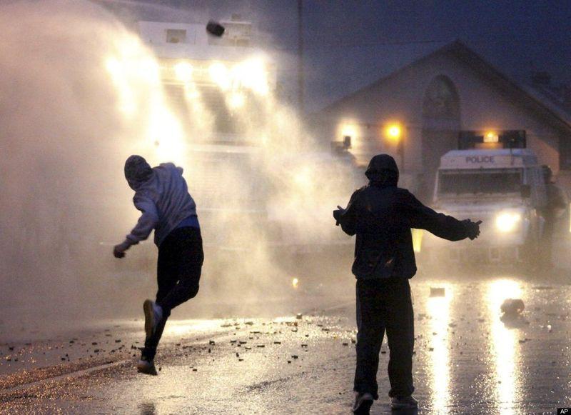 July 2010 andoyne riots
