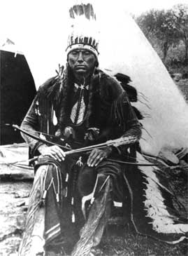 Quanah Parker, arrows