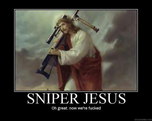 Sniper Jesus