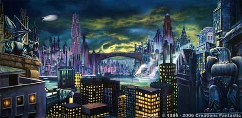 Gotham city on meth